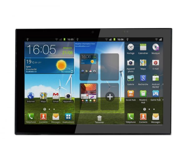 "Tablette Android encastrable 10"" 1"