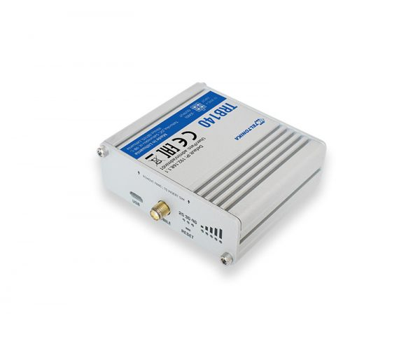 Passerelle IoT LTE Cat4 avec interface Ethernet, I/O, micro USB 2
