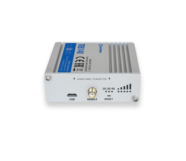 Passerelle IoT LTE Cat4 avec interface Ethernet, I/O, micro USB 3